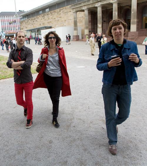 Student, Nira und Anna